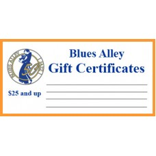 Blues Alley Gift Certificates