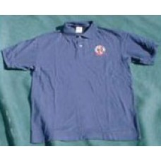 Blues Alley golf shirt - blue